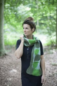 Craft Scarf Jula Green